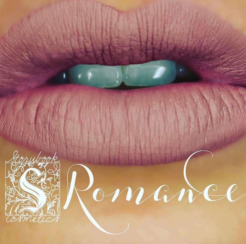 Storybook Cosmetics teased their new lipstick collection, and it is straight out of a romance novel