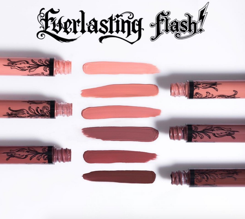 Surprise: Kat Von D Beauty's latest release are six new Liquid Lipstick nude shades