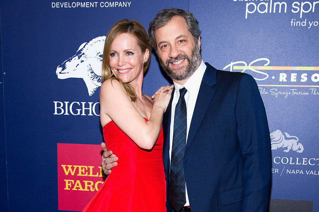 Leslie Mann said her husband Judd Apatow isn't funny, and her explanation is hilarious
