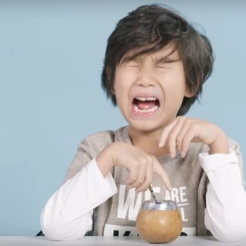 Kids tried tea from around the world, and they seriously don't understand why we drink it