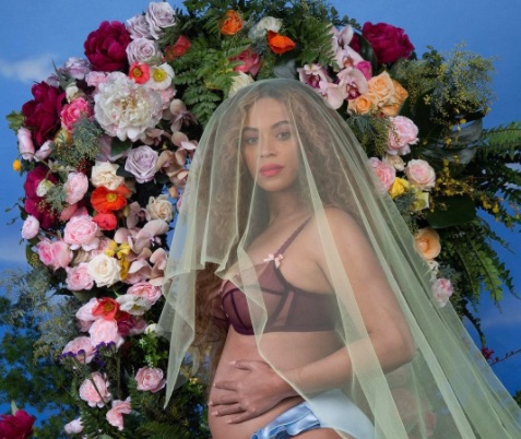 We found the gorgeous $130 burgundy bra Beyoncé wore in her pregnancy announcement — here's where to get it
