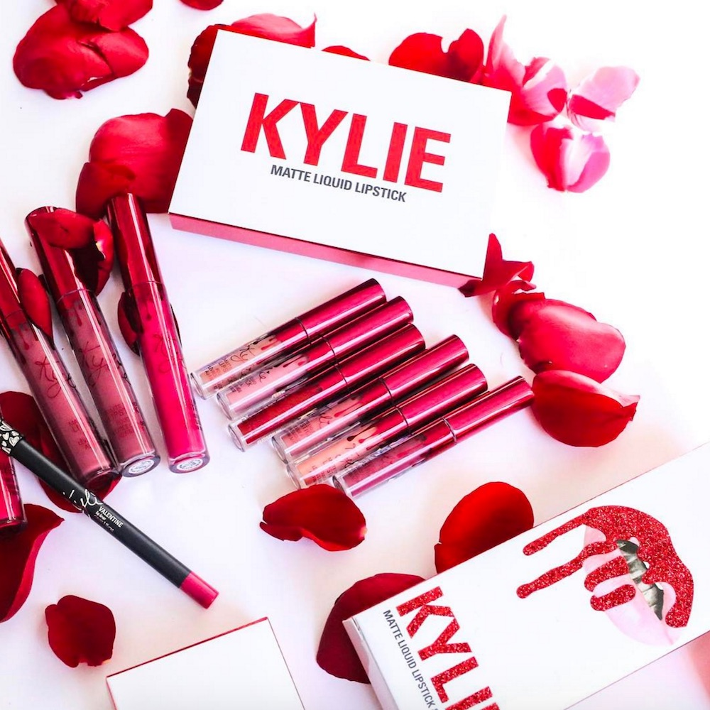 Get your wallets ready because Kylie Jenner's Valentine's Day collection drops today