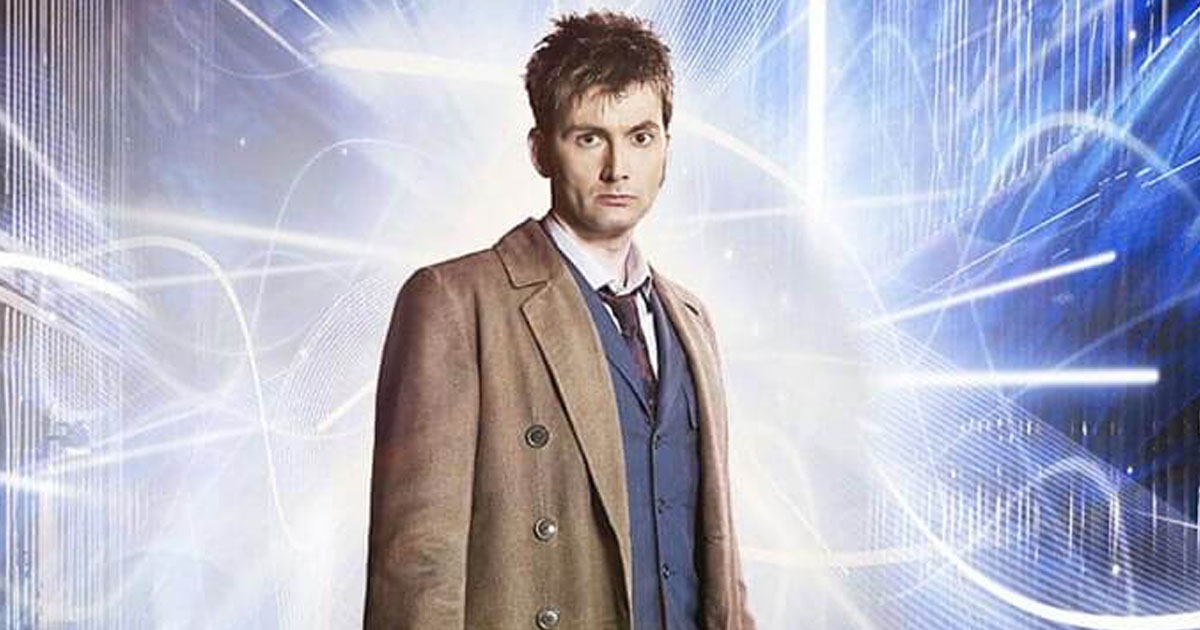 "Here's who David Tennant (aka The Doctor) wants to play, well, The Doctor on ""Doctor Who"""