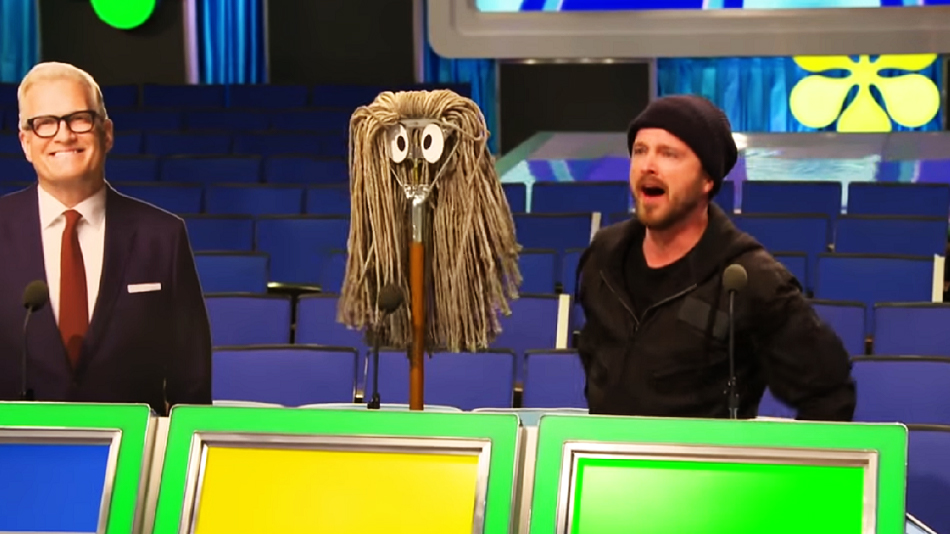 "Aaron Paul reflected on that time he was on ""The Price Is Right,"" and it didn't go the way you would have thought"