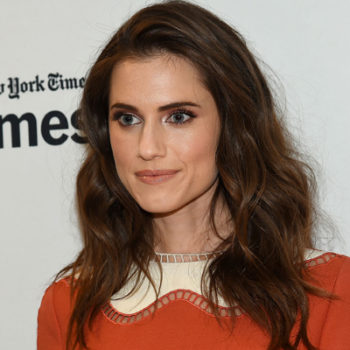 Allison Williams has an updated take on the school girl look, and it's so chic