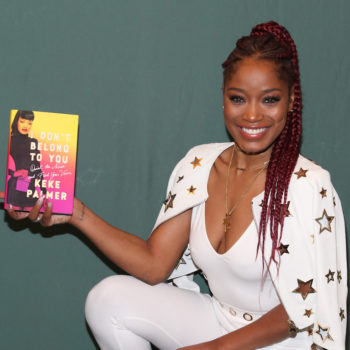 Keke Palmer talks to us about her new book, and why you should go makeup-free whenever you want