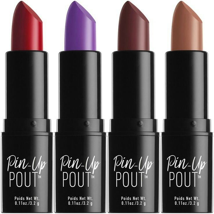 Pretend you're Bettie Page with NYX's new Pin Up Pout lipstick line