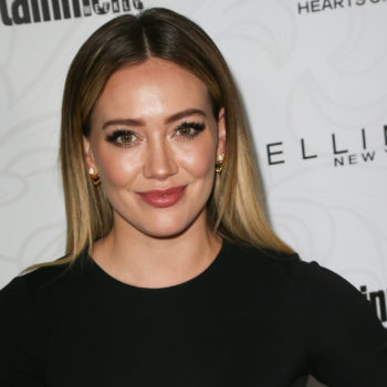 Praise the hair gods: Hilary Duff went even BLONDER