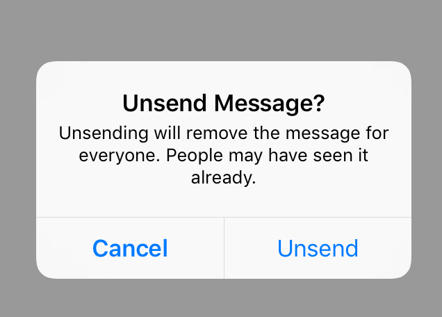 Game-changer: We can actually *unsend* our Instagram DMs