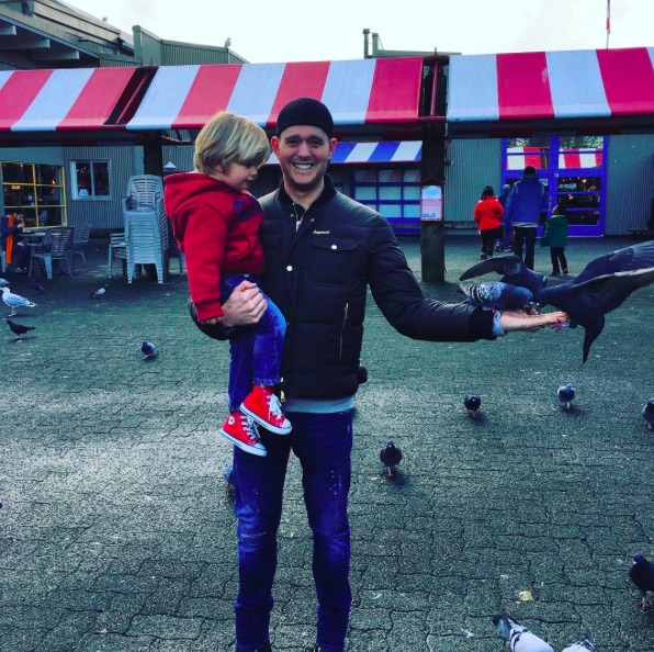 Michael Bublé provided an update on his son Noah's cancer treatment, and we're sending so much love his way