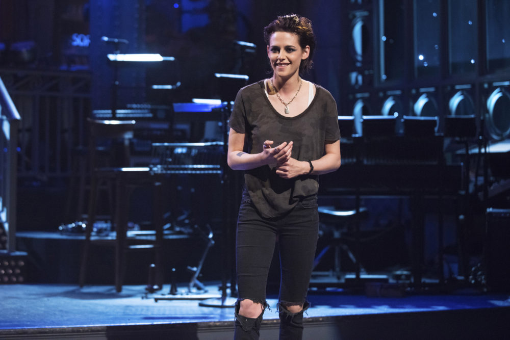 "Kristen Stewart's thoughts on facing her ""SNL"" fears are relatable-slash-inspirational as hell"