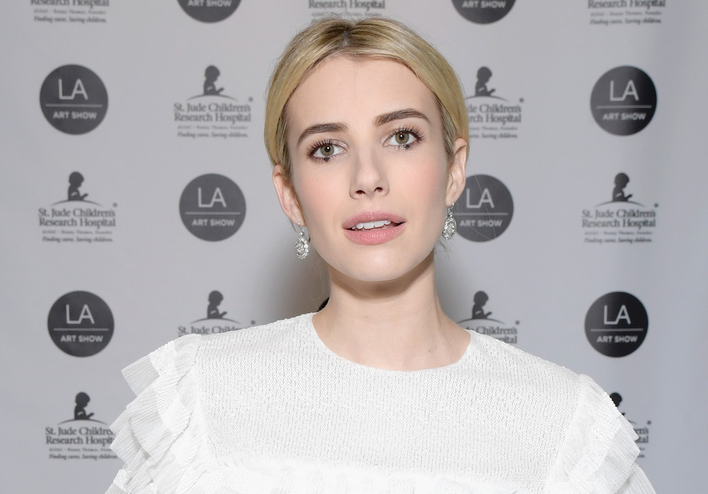 "Emma Roberts dyed her hair ""Cayenne Spice,"" and it's most definitely the color of 2017"