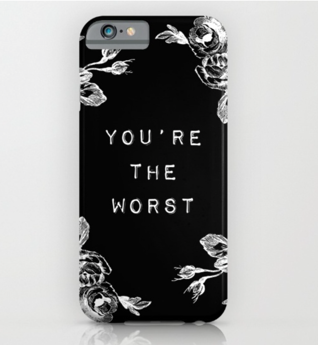 Please and thank you: 7 phone cases to help fuel your anti-Valentine's Day spirit