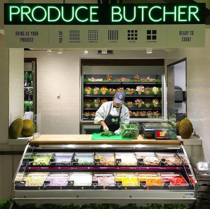 """Whole Foods now has a """"produce butcher"""" and yeah, it's what it sounds like"""