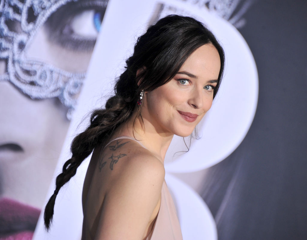 Dakota Johnson knows the best way to spend Valentine's Day when you're single
