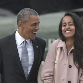"""Malia Obama totally nailed the """"mom jeans"""" look for the first day of her big NYC internship"""