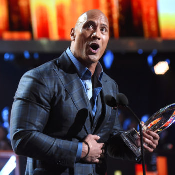 Dwayne Johnson just made a 7 layer dip big enough to swim in, which we would definitely do