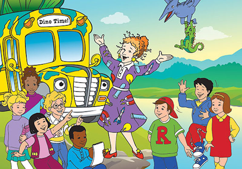 "FYI, you can watch all ""The Magic School Bus"" episodes on Netflix, in case you needed something to feel good about today"