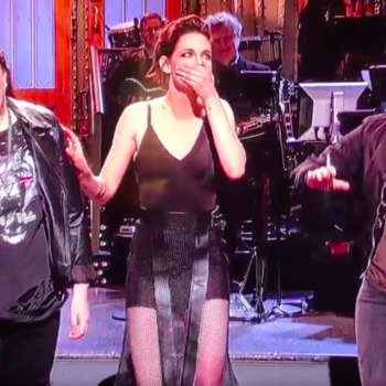 Kristen Stewart hosted 'SNL' and dropped an F-bomb, because of course she did
