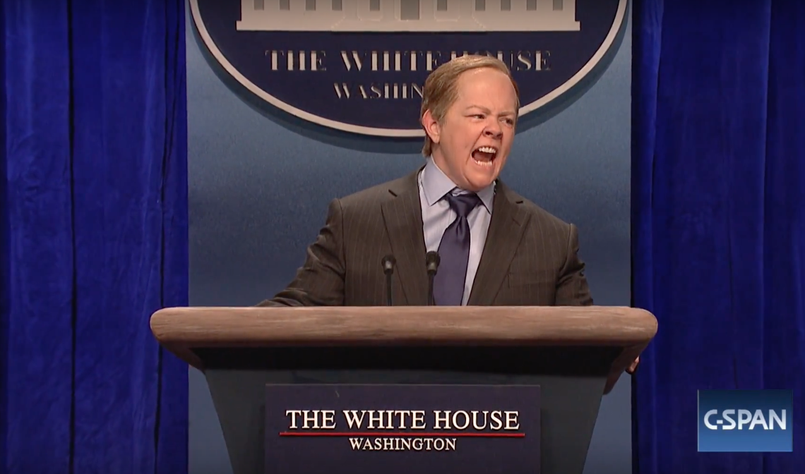 Melissa McCarthy on 'SNL' as White House Press Secretary Sean Spicer is the funniest thing in a long time