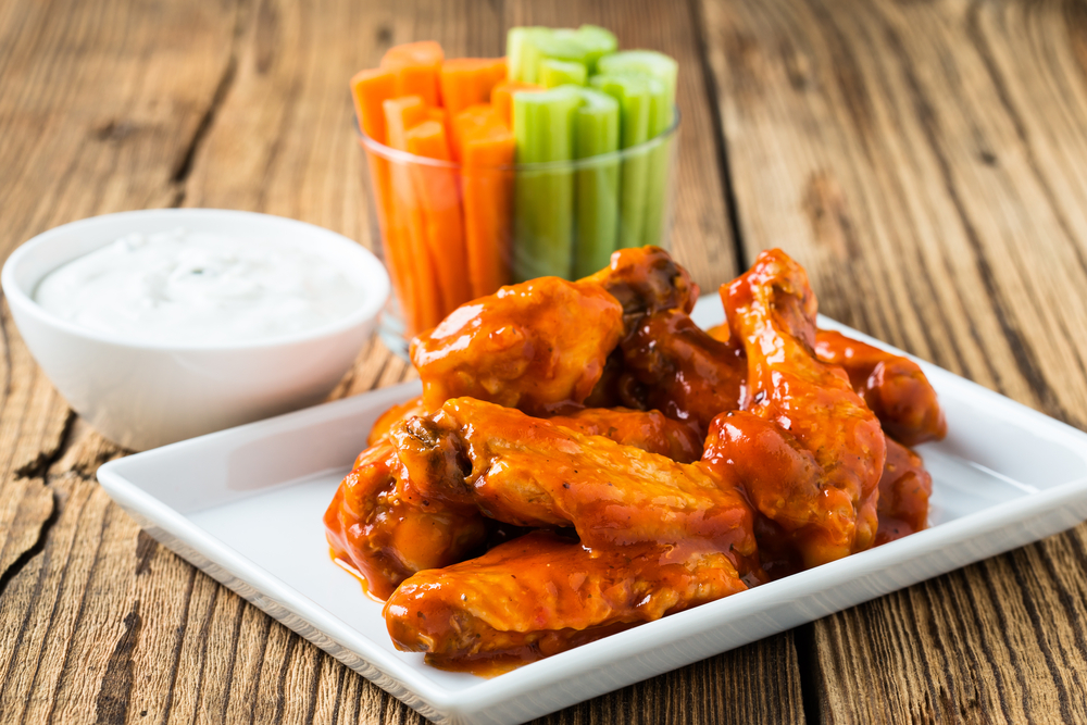 Wait, people will eat HOW MANY chicken wings during the Super Bowl??