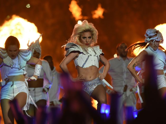 Lady Gaga's Super Bowl performance was literally fire, and the entire ...