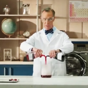 Bill Nye is the only one who could make this commercial for laundry detergent so delightful