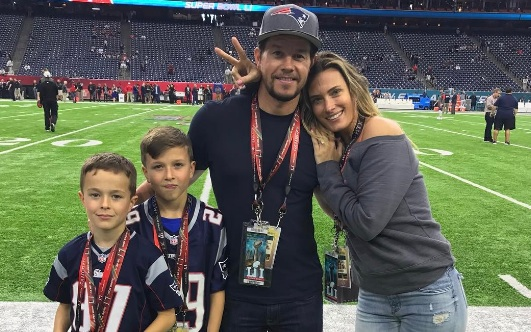 Mark Wahlberg had to miss his team's epic Super Bowl win when his son got sick, because, that's dad life