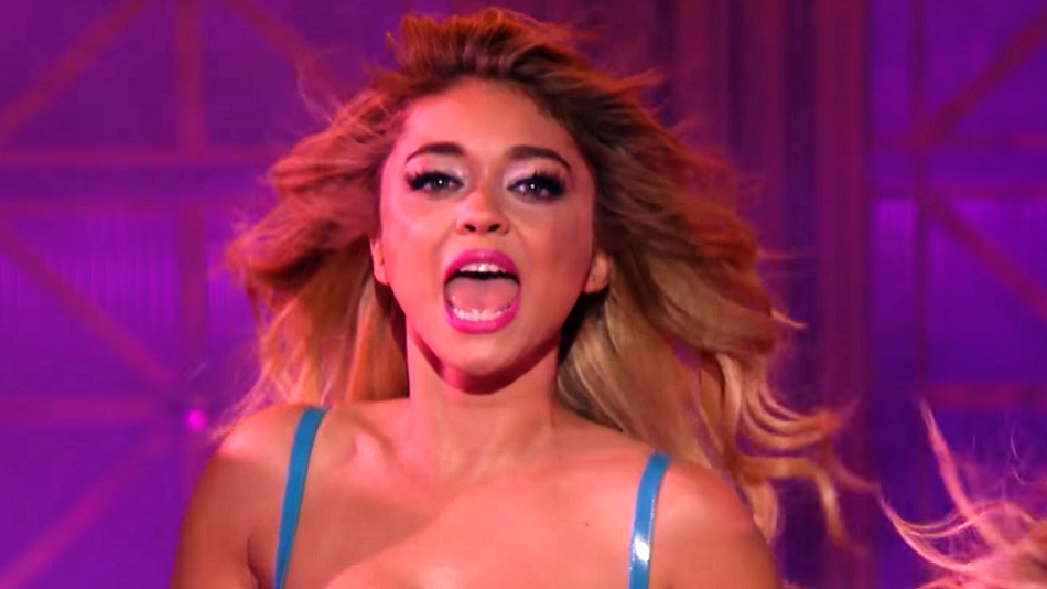 "This preview clip of Sarah Hyland performing ""Don't Cha"" on ""Lip Sync Battle"" is our everything"