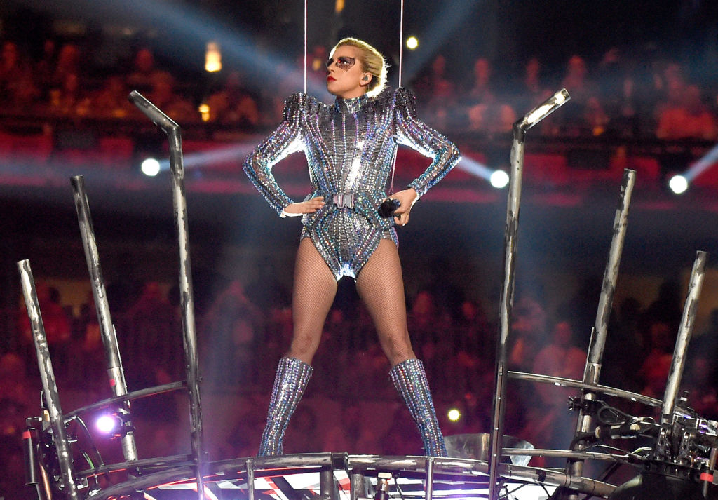 Here's everything you need to know about Lady Gaga's Versace Super Bowl costumes