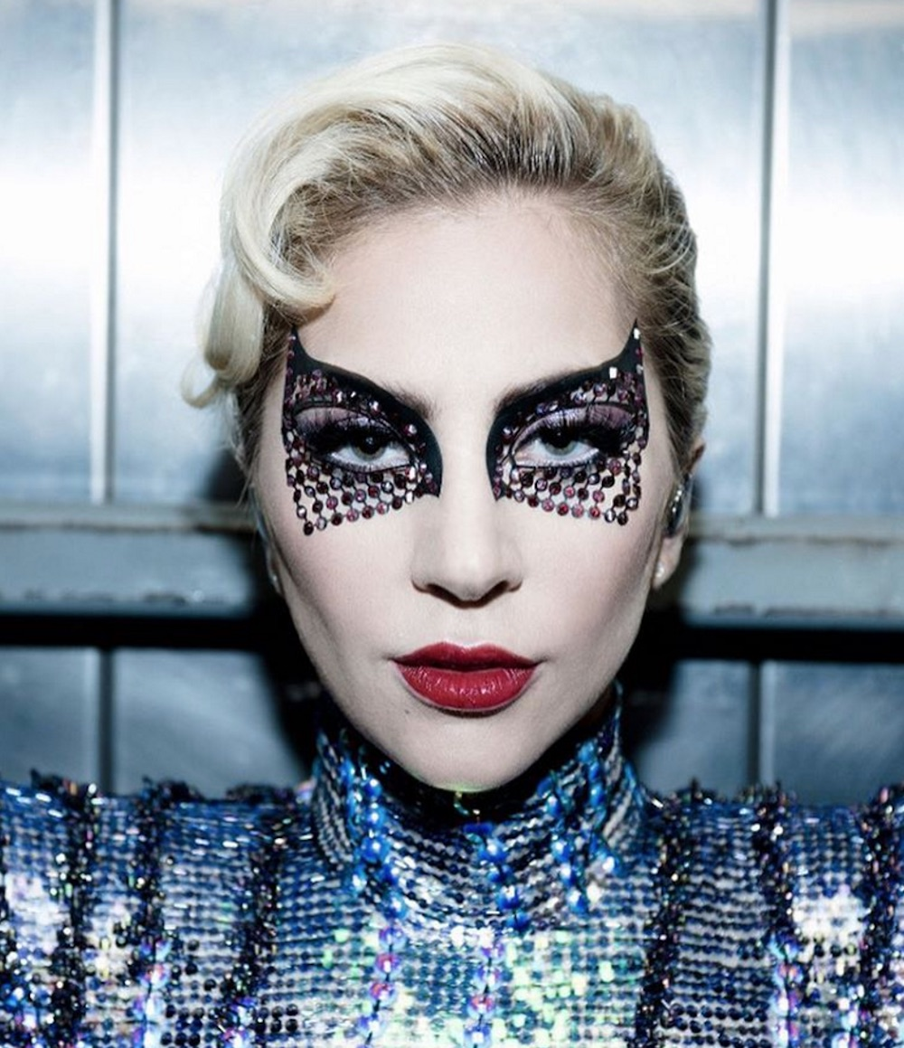 This is how Lady Gaga got her Spider-Woman-esque makeup look at the Super Bowl