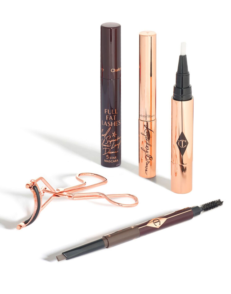 Charlotte Tilbury's new Supermodel Brow Lift kit will inspire you to channel Brooke Shields