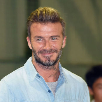 This photo of David Beckham embracing his little girl is making us melt