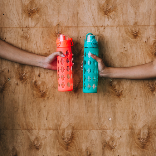 Sorry, but there are an insane amount of germs collecting on your water bottle