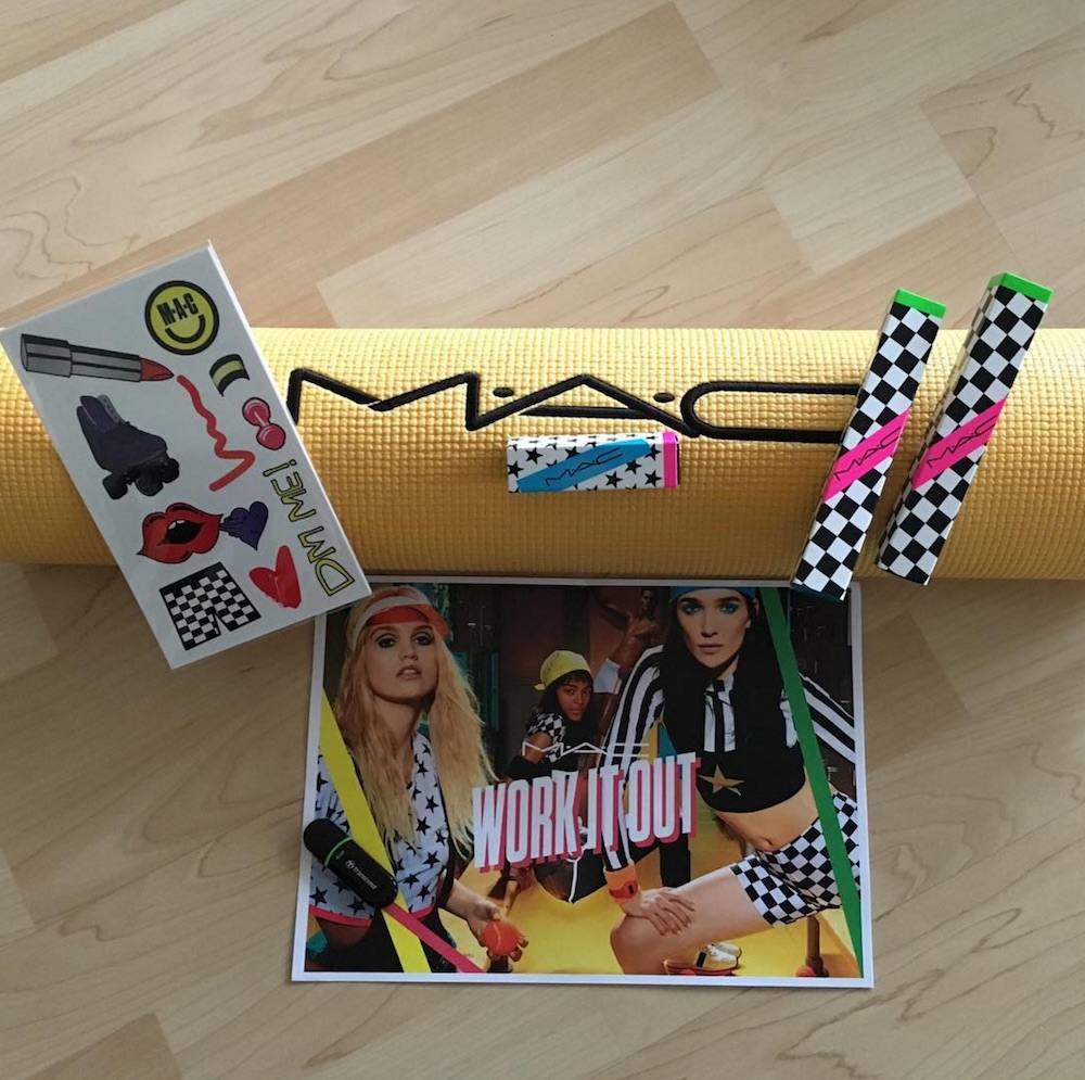 MAC's upcoming Work It Out collection will totally make you feel like Olivia Newton-John from the '80s