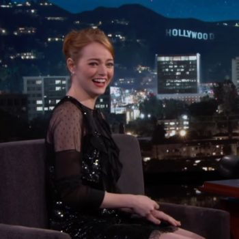 Emma Stone got to discuss *that* awkward Golden Globes moment, and she thinks it's as funny as we do