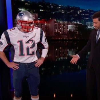 Matt Damon pretended to be Tom Brady to trick Jimmy Kimmel, and we will never get tired of this bromantic feud