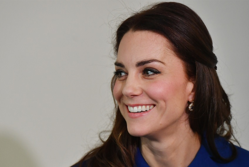 Kate Middleton somehow managed to pull off an all-purple skirt suit, and how does she do it?!