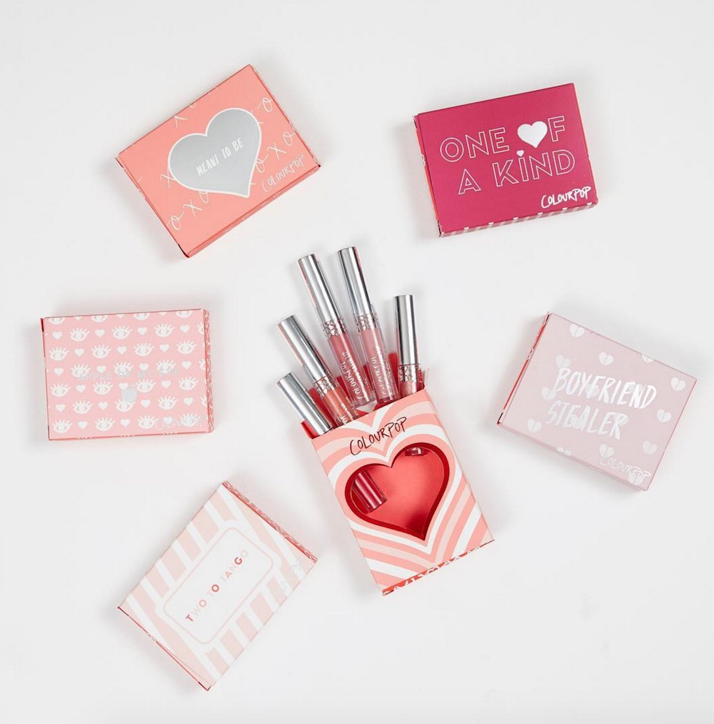 ColourPop launched their Valentine's collection early — here's the makeup you NEED to get