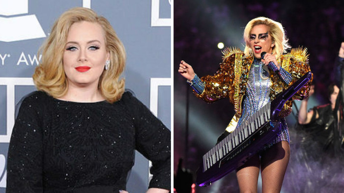 """What Adele said about Lady Gaga's Super Bowl performance says a lot about their """"beef"""""""