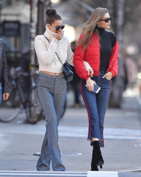 Bella Hadid says Gigi always steals her clothes because these girls are literally you and your sister