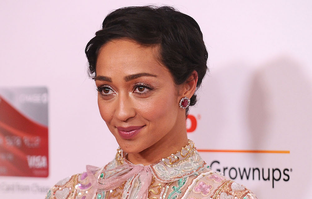 Ruth Negga played the part of an ethereal empress in her most recent red carpet look