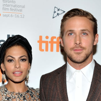 "Aw! Eva Mendes inspired Ryan Gosling to say this one line in ""La La Land"""