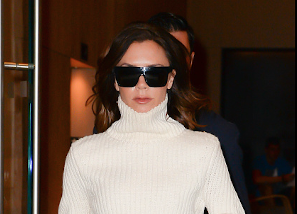 Victoria Beckham shows us the ultimate way to style extra wide-leg trousers