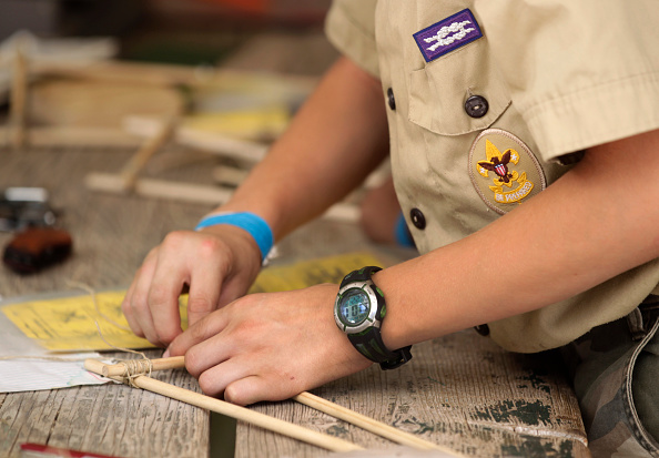 Finally, some good news: This child is now the first openly transgender Boy Scout
