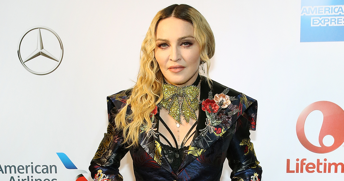 Madonna shared the first picture of her two newly adopted twins, and it's adorable