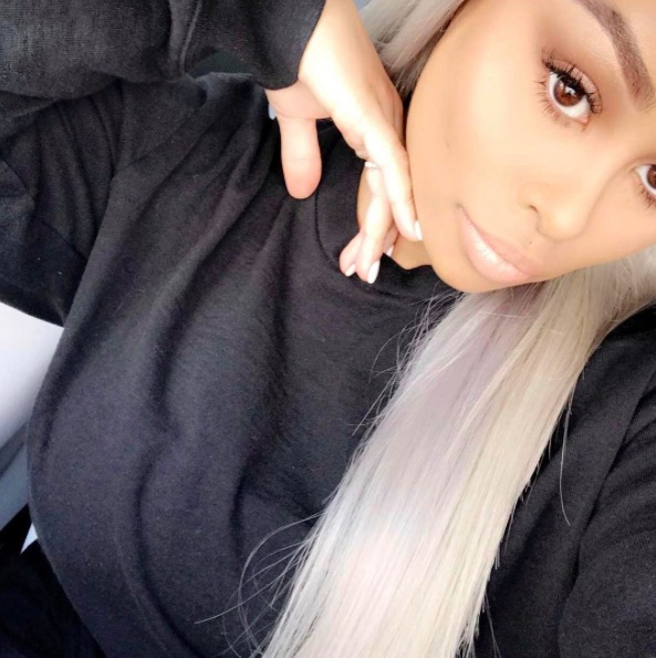 Blac Chyna is rocking a Kris Jenner-style, SILVER pixie cut