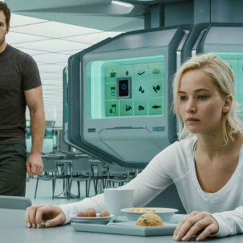 "Oh, ""Passengers"" was actually supposed to be MORE twisted, and that sure is something"