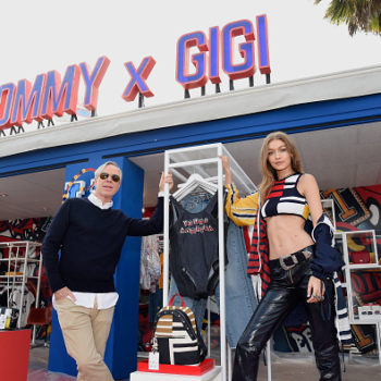 """Gigi Hadid's abs stole the show at the Tommy Hilfiger """"Tommyland"""" extravaganza"""