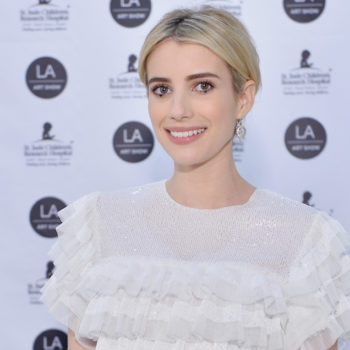 Emma Roberts' current book is interestingly one we did not expect